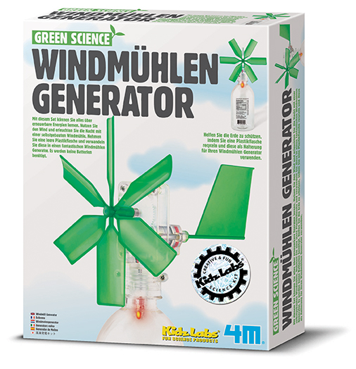 Green Science Windmühlen Generator