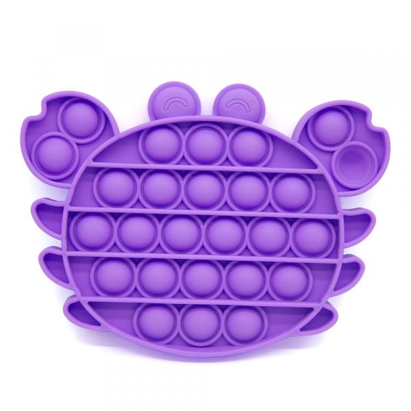 Bubble Fidget - Krabbe purple