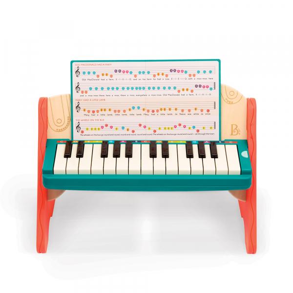 B. Kinder-Piano aus Holz