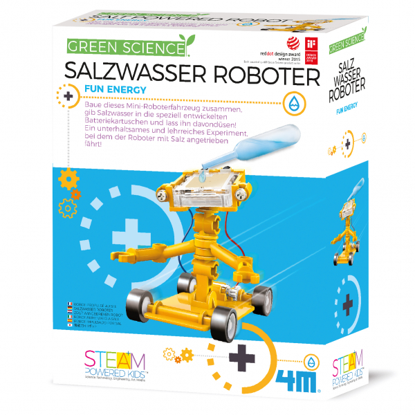 Salzwasser Roboter - Green Science