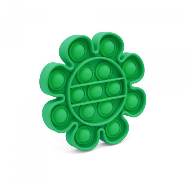 Bubble Fidget - Blume grün