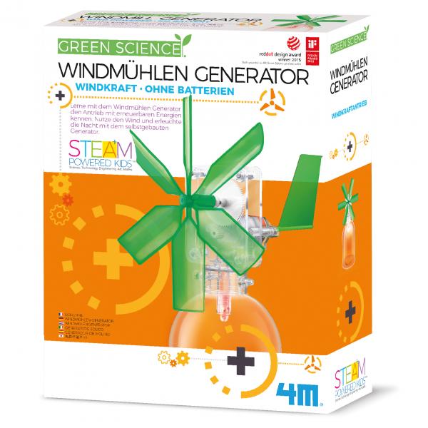 Windmühlen Generator - Green Science