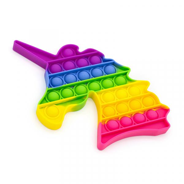 Bubble Fidget - Einhorn rainbow