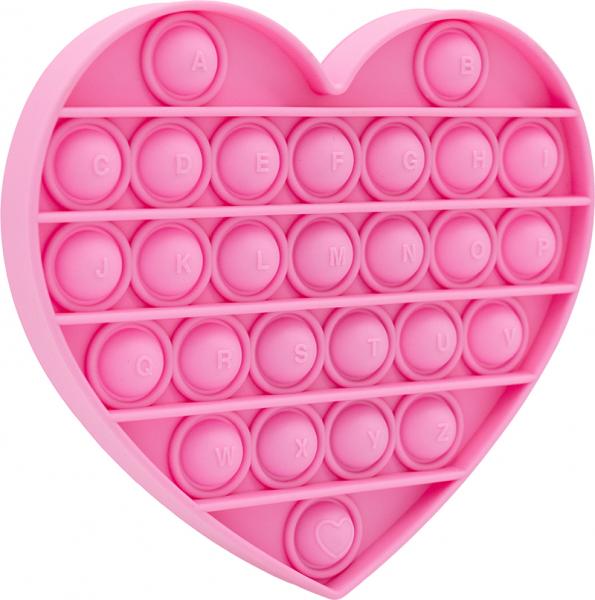 Bubble Fidget - Herz pink