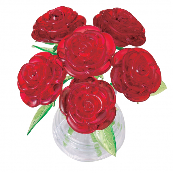 Crystal Puzzle - Rote Rosen