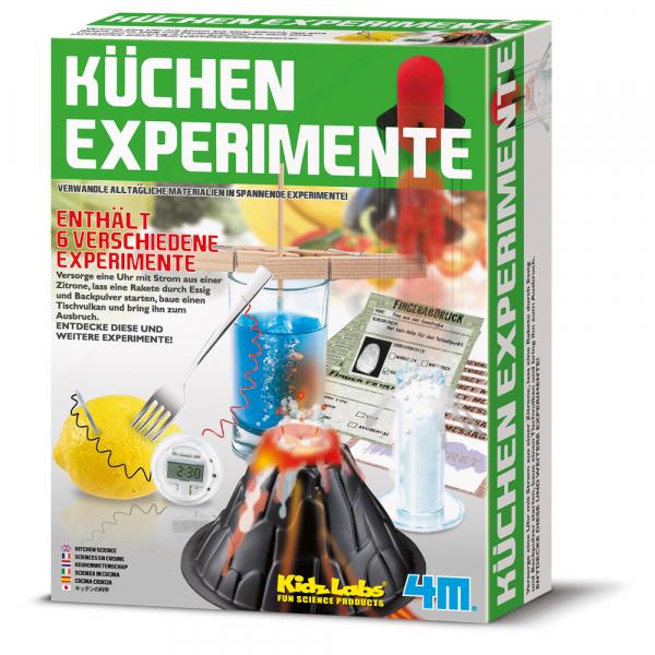 Küchen Experimente - KidzLabs