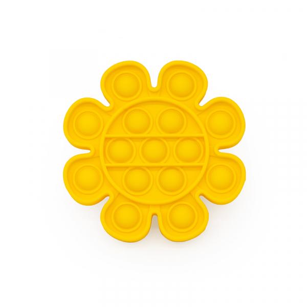Bubble Fidget - Blume gelb