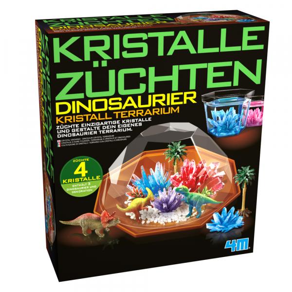 Kristalle Züchten Dinosaurier