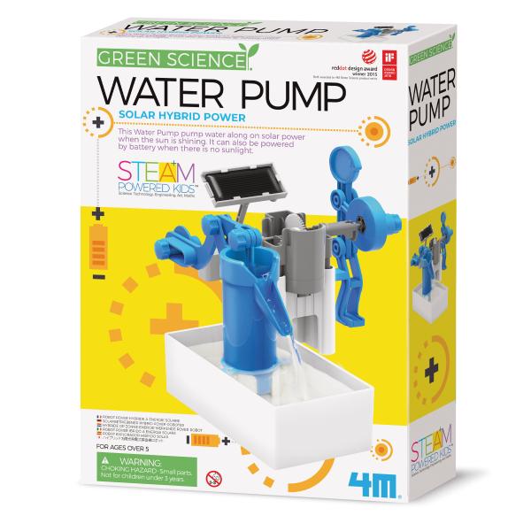 Wasserpumpe Solar Hybrid - Green Science