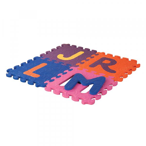 B. 26 Alphabet Tiles Buchstaben Puzzlematte