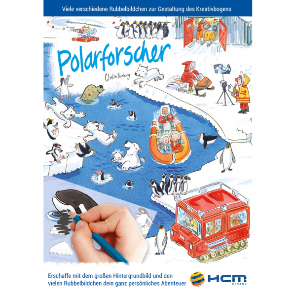 Scribble Down - Polarforscher