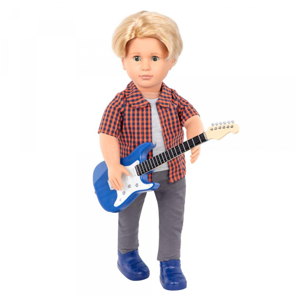 OG - Deluxe Jungen Outfit - Cool mit E-Gitarre