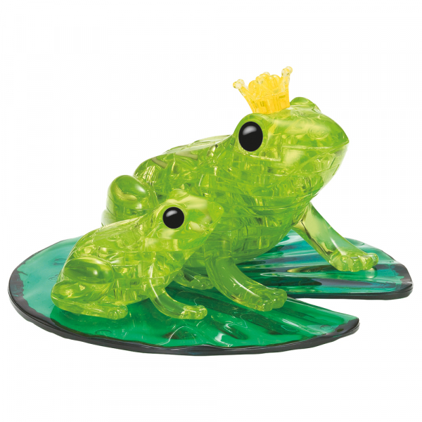 Crystal Puzzle - Froschpaar