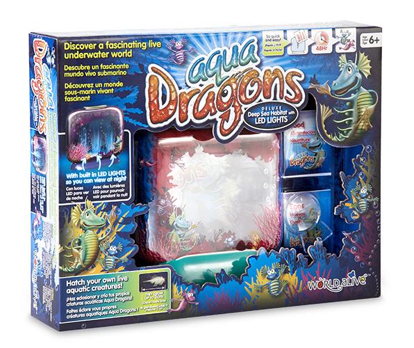 AQUA DRAGONS - Deluxe Deep Sea Habitat