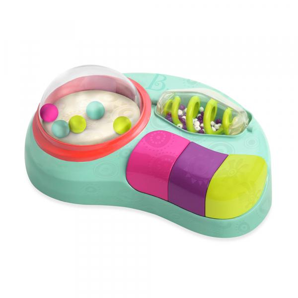 B. Whirly Pop Sensorik Spielzeug mit Licht und Sound