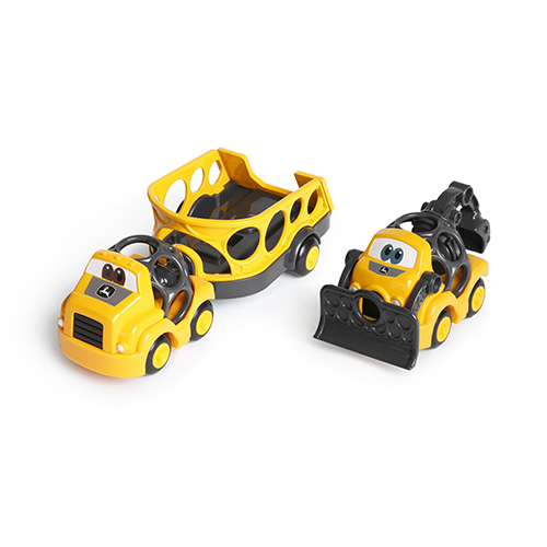 Oball Go Grippers John Deer Construction Trailer Set
