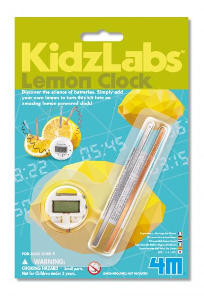 Zitronenuhr - KidzLabs