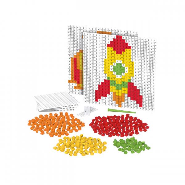 BB - Pixel Rakete und Fisch