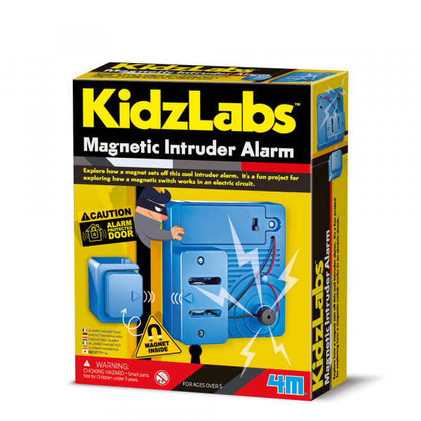 Magnetischer Einbruch Alarm - KidzLabs