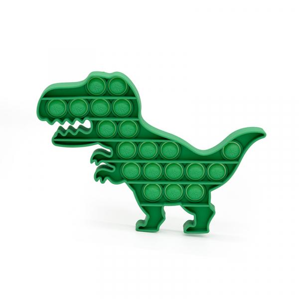 Bubble Fidget - Dinosaurier grün