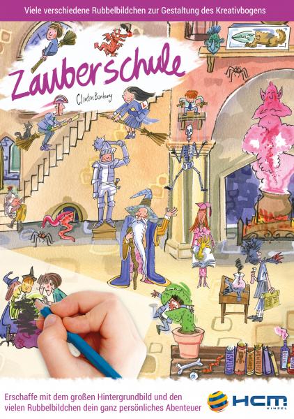 Scribble Down - Zauberschule