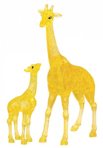 Crystal Puzzle - Giraffenpaar