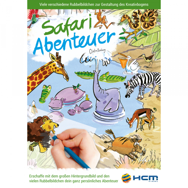 Scribble Down - Safari Abenteuer