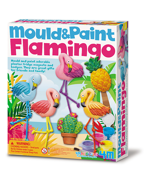 Mould & Paint - Flamingos