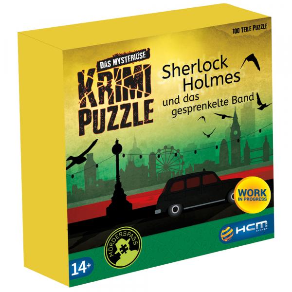 Sherlock Holmes - Das mysteriöse Krimi Puzzle