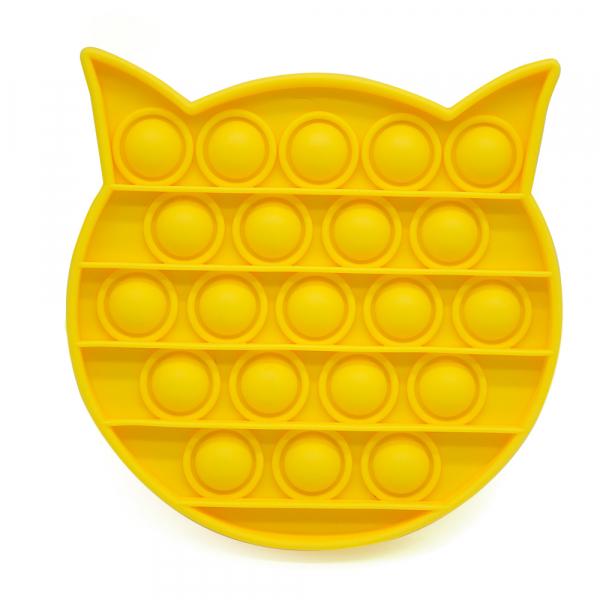 Bubble Fidget - Katze gelb
