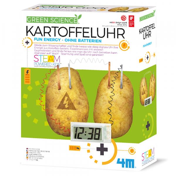 Kartoffeluhr - Green Science