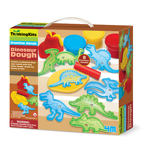 Creative Hands - Dinoaurier Knetmasse Sp