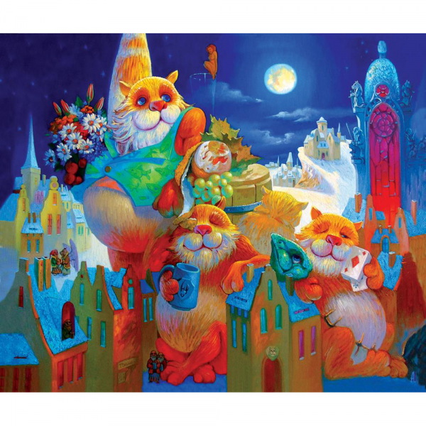 DaVICI Puzzle - Vollmondfest