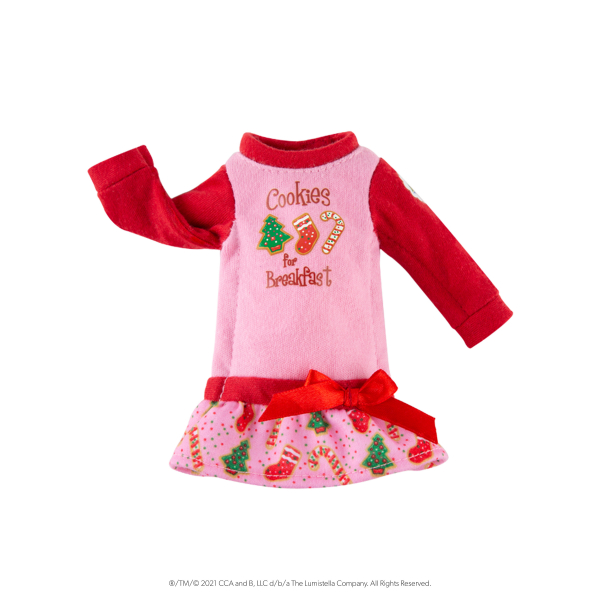 Elf Outfit - Cookies Nachthemd
