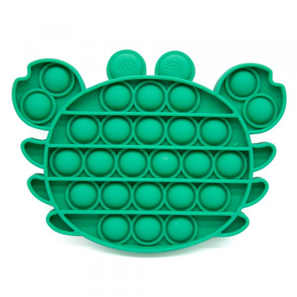 Bubble Fidget - Krabbe grün