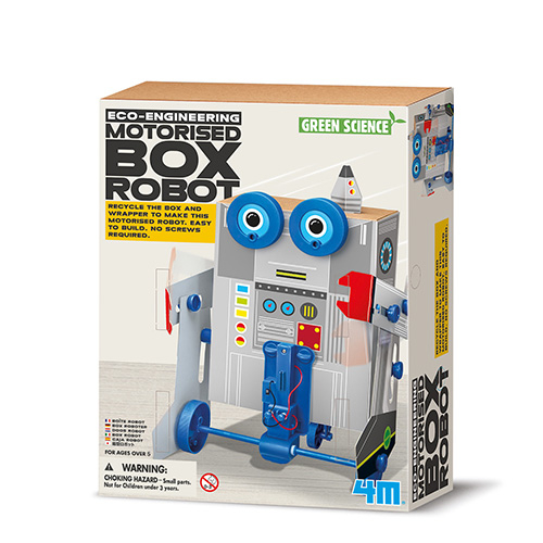Eco-Engineering - Motorisierter Box Robo