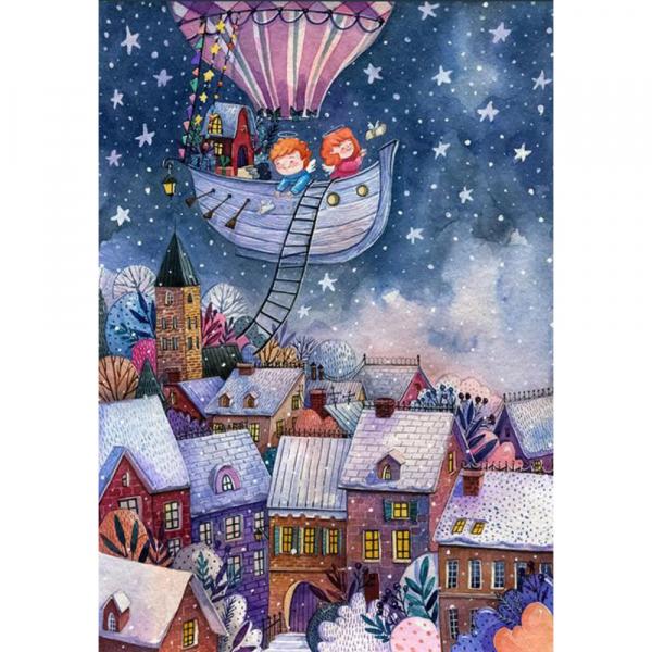 DaVICI Puzzle - Die Weihnachtsfahrt