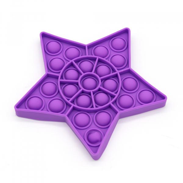 Bubble Fidget - Stern purple