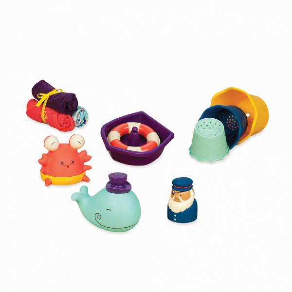 B. Wee B. Splashy Maritimes Wasserspielzeug