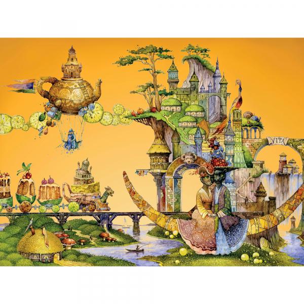 DaVICI Puzzle - Katzentraum