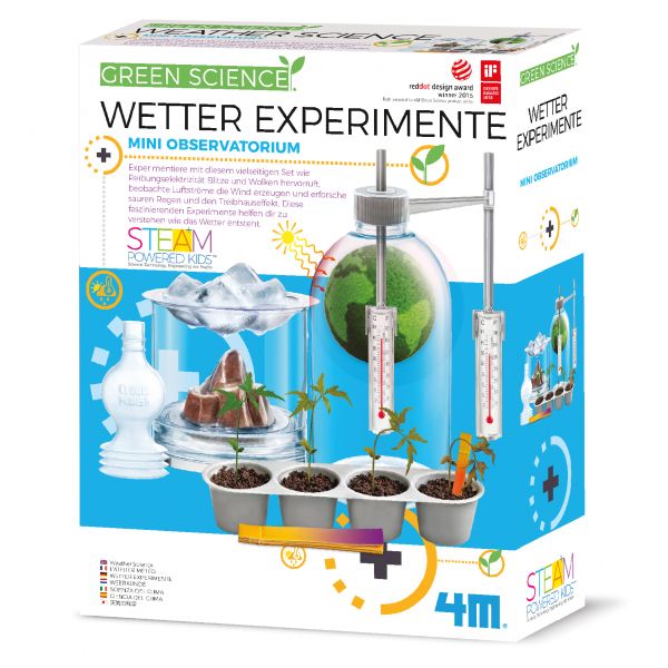 Wetter Experimente - Green Science