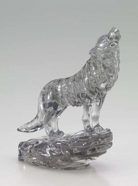 Crystal Puzzle - Wolf Schwarz