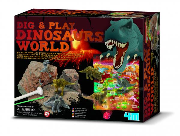 Dig & Play Dinosaurs World