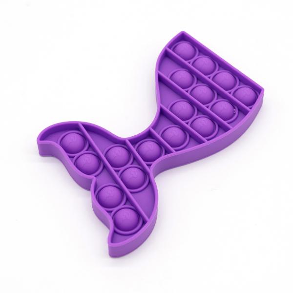 Bubble Fidget - Meerjungfrau purple