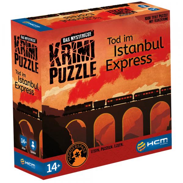 Tod im Istanbul Express - Das mysteriöse Krimi Puzzle