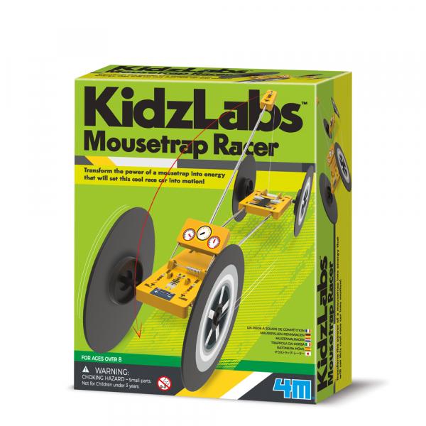 Mausefallen-Rennwagen - KidzLabs