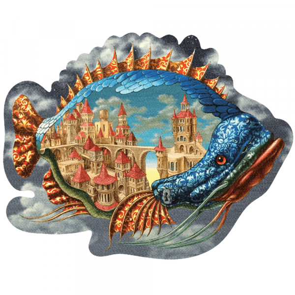 DaVICI Puzzle - Der Stadtfisch