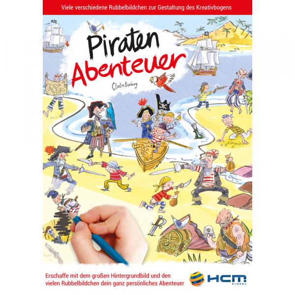 Scribble Down - Piraten Abenteuer