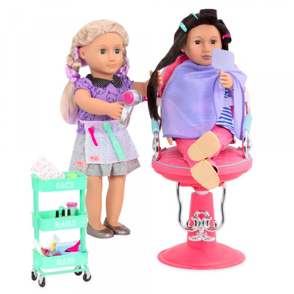 OG - Haarsalon Set mit Styling Accessoires