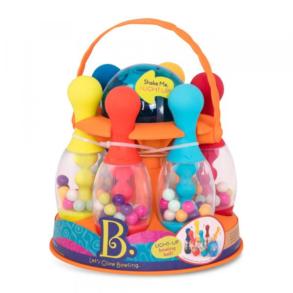 B. Leuchtendes Bowling Set